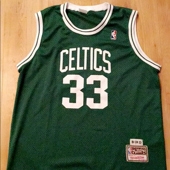 sports shoes 26455 203d2 Vtg Mitchell & ness Larry bird jersey XXL